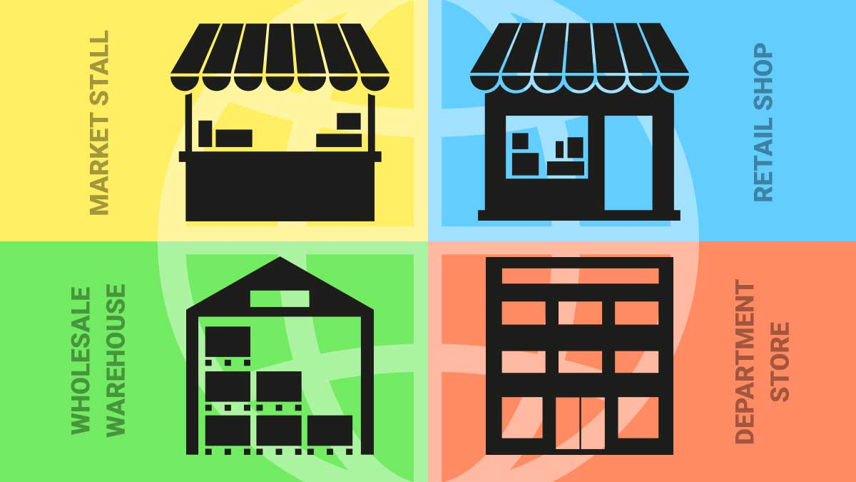 4 types of ecommerce websites